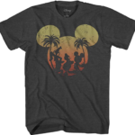 Disney Trio Sunset T-shirt