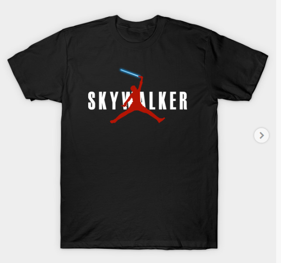 Air Skywalker Star Wars Jedi Tee